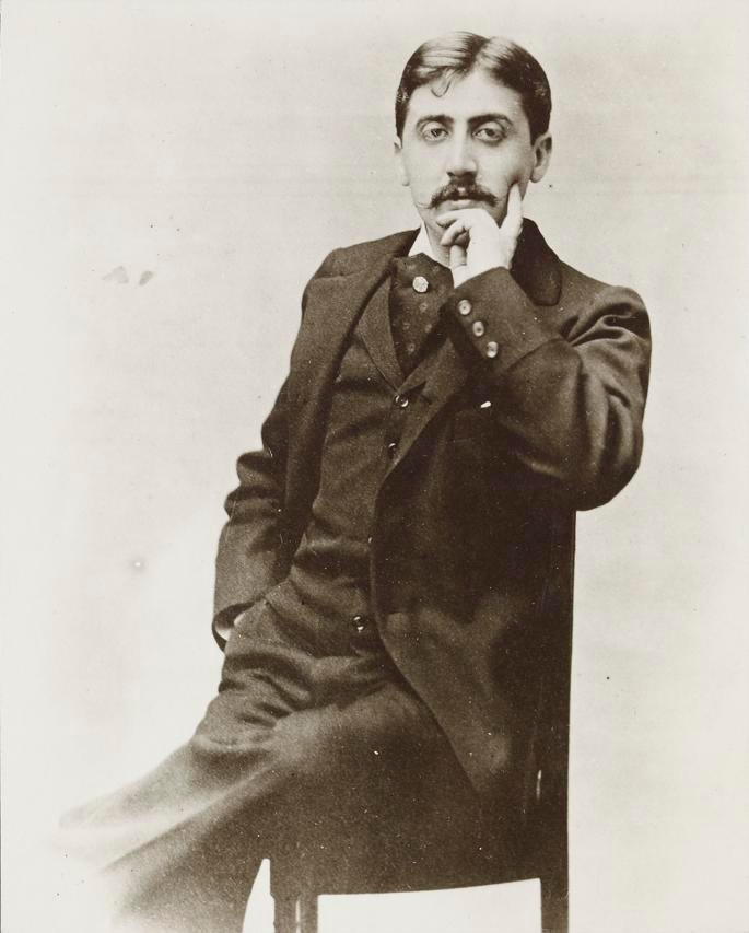MARCEL; PROUST; OTTO; WEGENER; OLD PHOTOGRAPHY; FAMOUS FRENCH WRITTER;