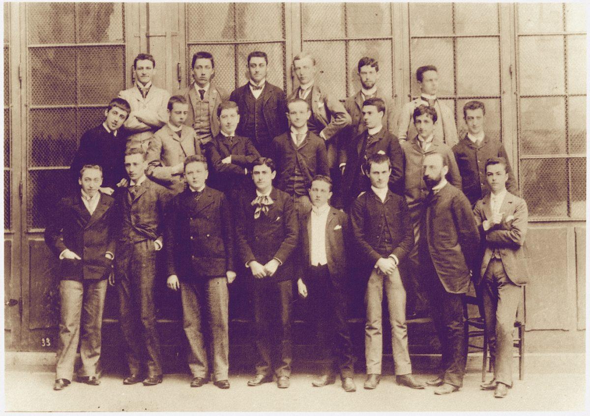 PROUST; MARCEL; LYCEE; HIGH SCHOOL PHOTO; CONDORCET; PARIS;