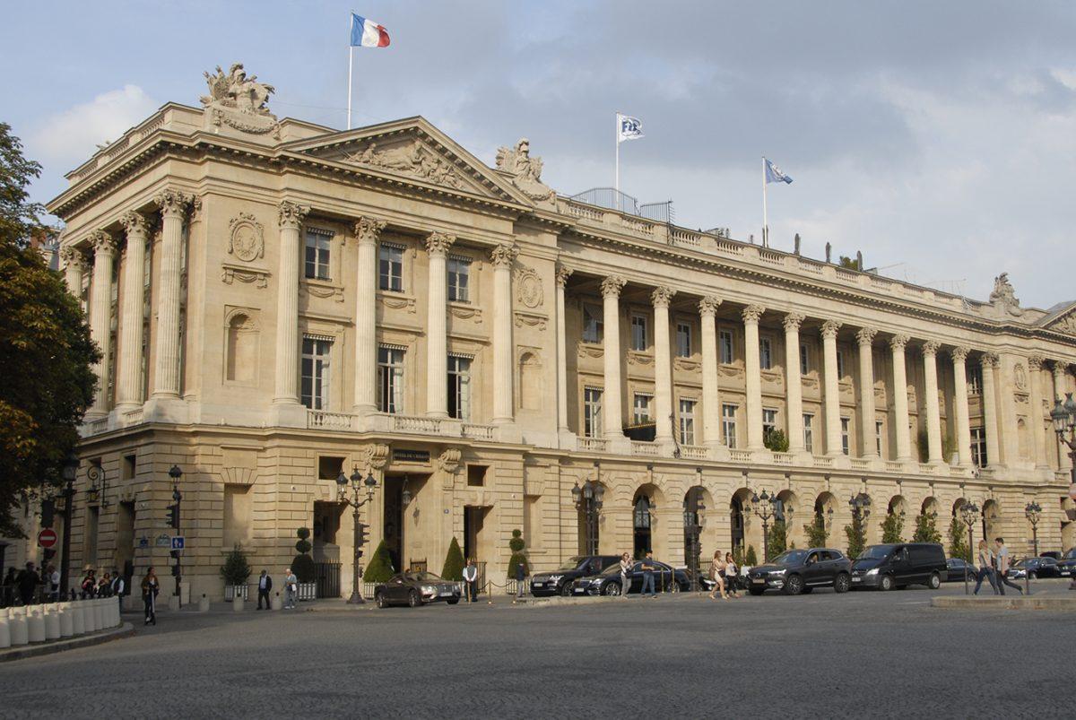 PARIS;HOTEL;DE CRILLON;