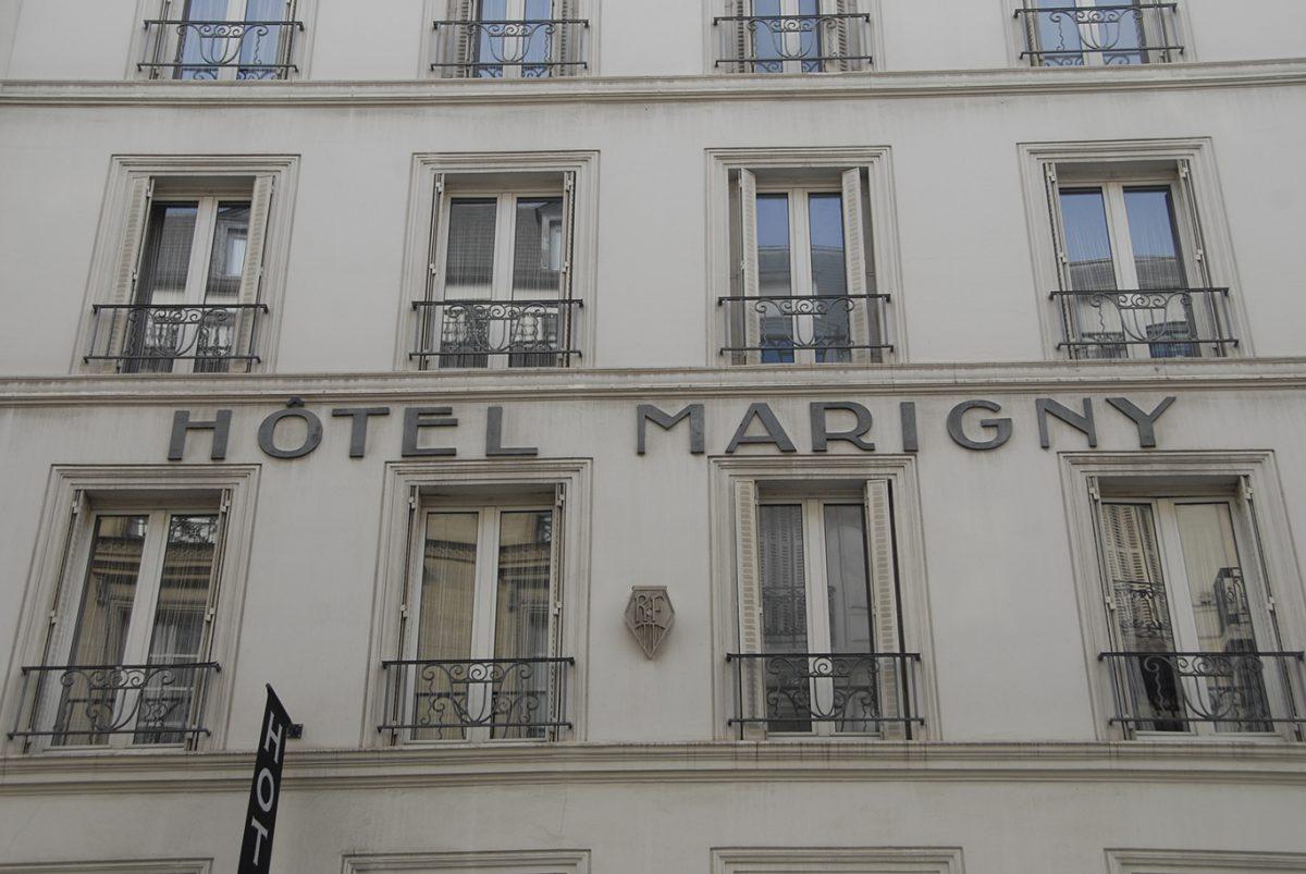 FASADE; HOTEL; MARIGNY; PARIS;