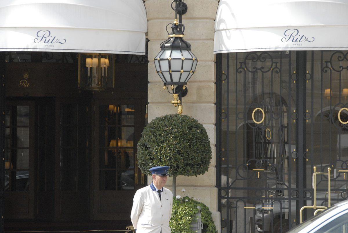 RITZ; HOTEL; PARIS; ENTRANCE;