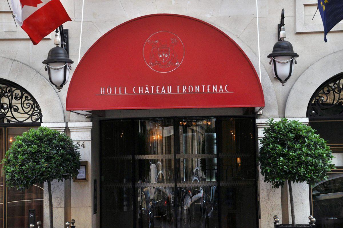 EDITH; PIAF; GENTRY; HOTEL FACADE; CHATEAU FRONTENAC;PARIS;