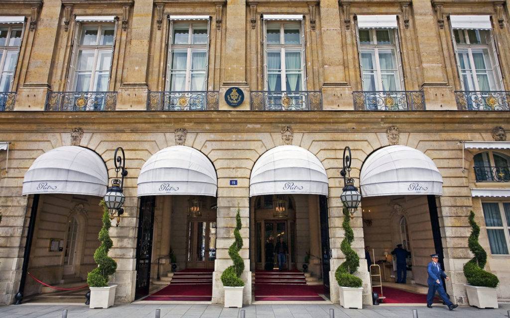 Hotel Ritz in Paris