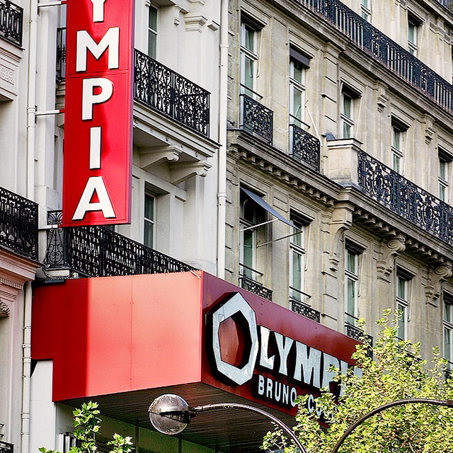 OLYMPIA; PARIS; MUSIC HALL;