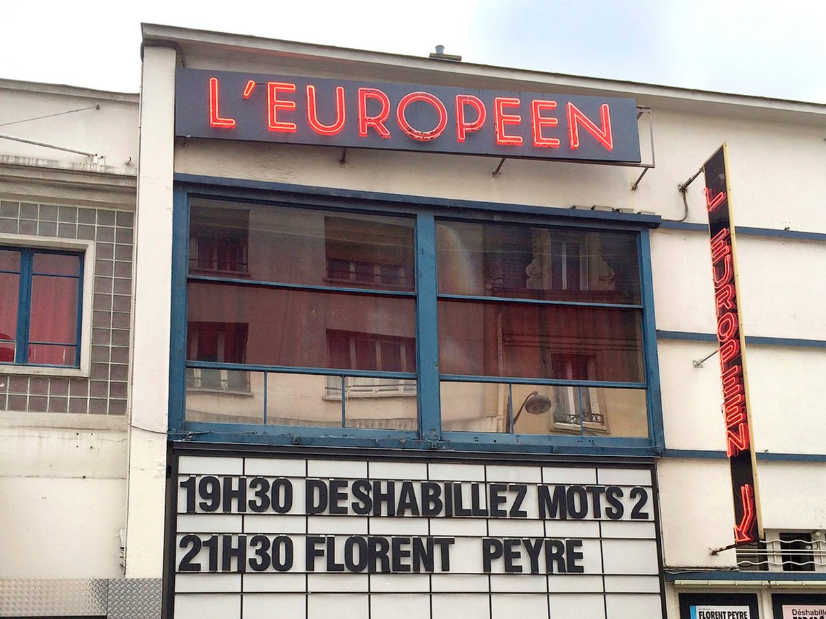 EDITH; PIAF; MUSIC HALL; L'EUROPEEN;